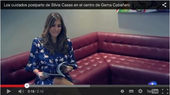 Silvia Casas en el programa SOLO MODA de TVE