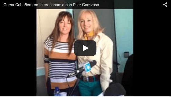 Gema Cabañero en Intereconomia con Pilar Carrizosa
