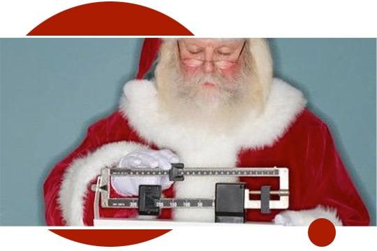 Evita los kilos navideños