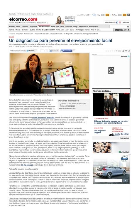 Diagnóstico Inner Wellness de Gema Cabañero_El Correo