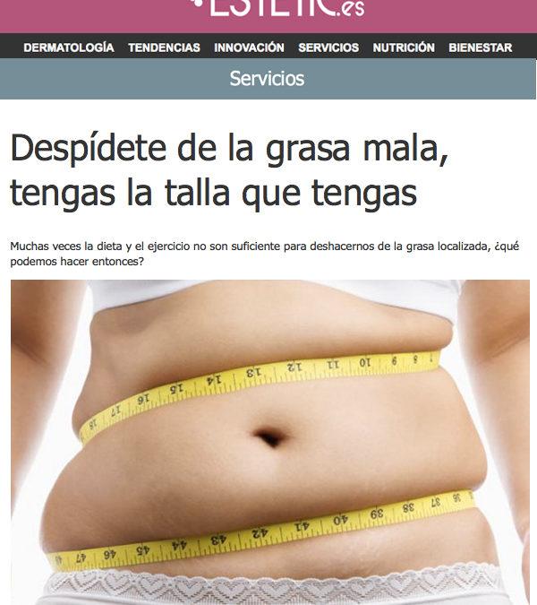 Despidete de la grasa mala
