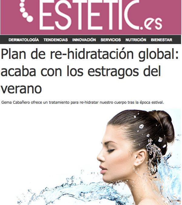 Plan de re-hidratación global