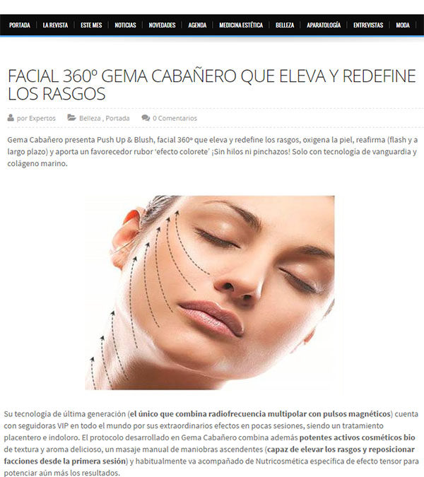 Facial 360º Gema Cabañero