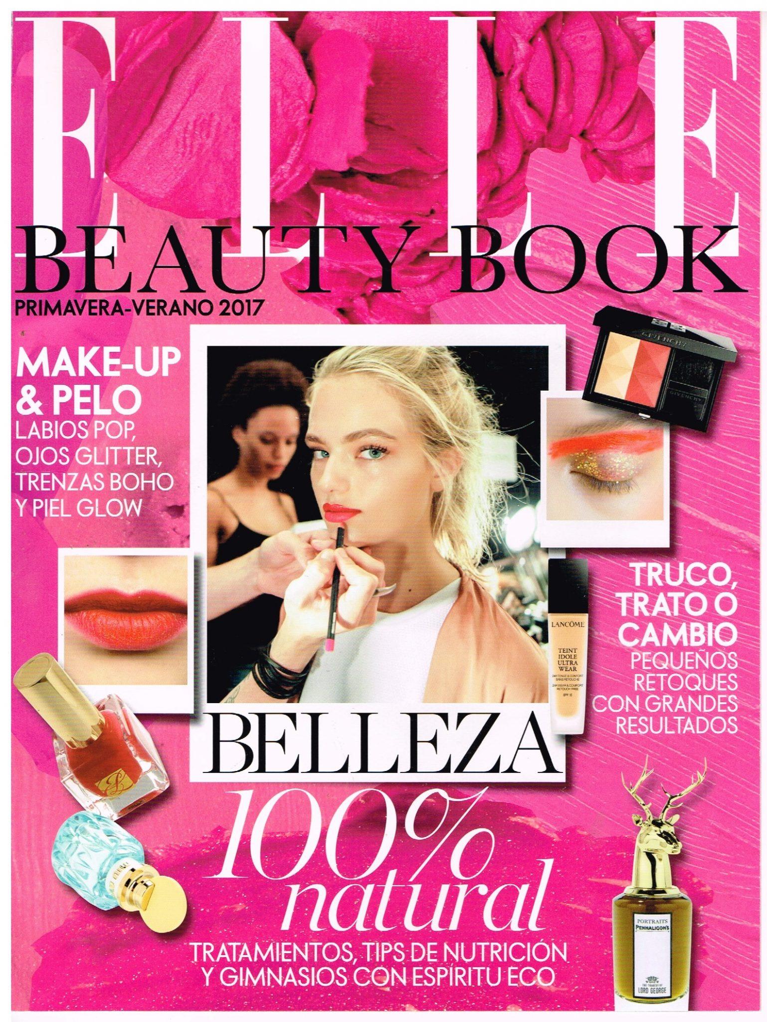 Gema cabañero, gurú de la estética en la Revista Elle