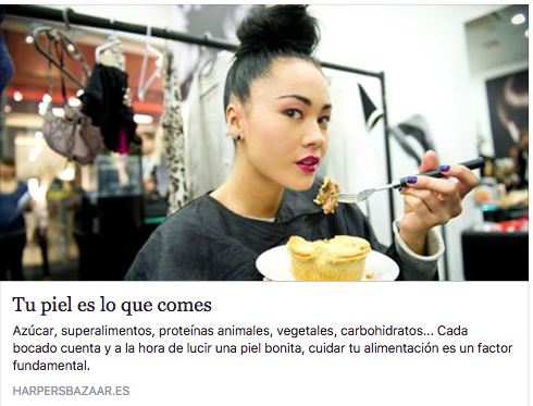 Gema Cabañero en Harpers Bazaar