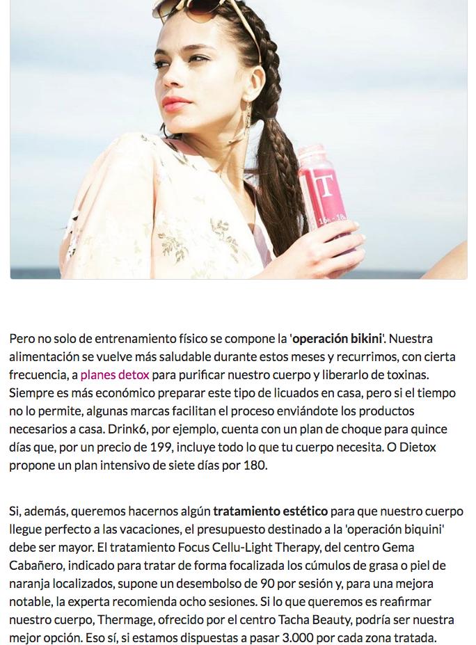 Operacion Bikini en Yodona con Gema Cabañero