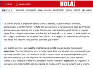 Screen Shot 2018 02 19 at 10.36.47 Oxigenoterapia en Hola Madrid