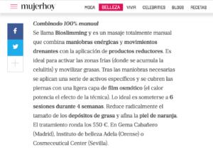Screen Shot 2018 07 09 at 10.24.54 Potencia tus piernas, Gema Cabañero en Mujer Hoy Madrid