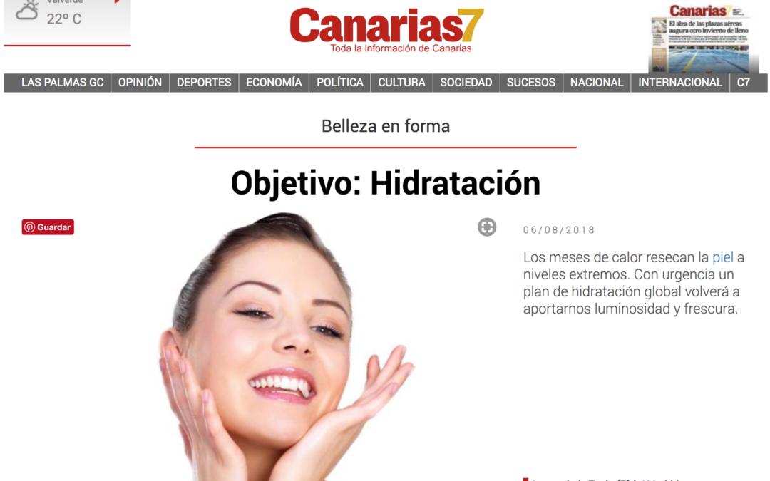 Re-hidrata la piel con Gema Cabañero en Canarias 7