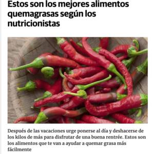 Gema Cabañero en Diario Vasco