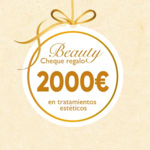 Cheque Regalo 2000€
