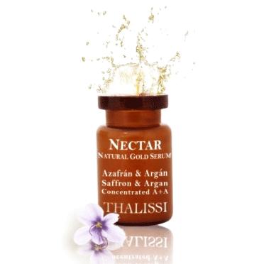 Néctar Natural Gold Serum Concentrado Azafrán & Argan 4u x 5ml - Thalissi
